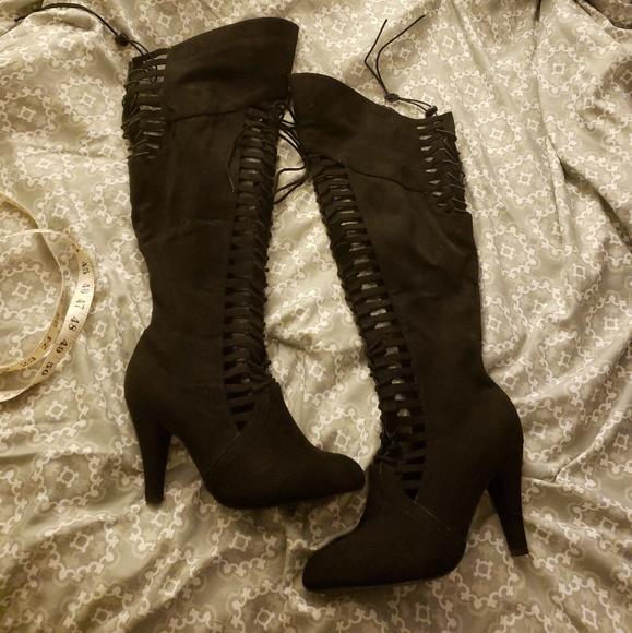 cff91d1e0 Lane Bryant Shoes | Cut Out Boots | Poshmark